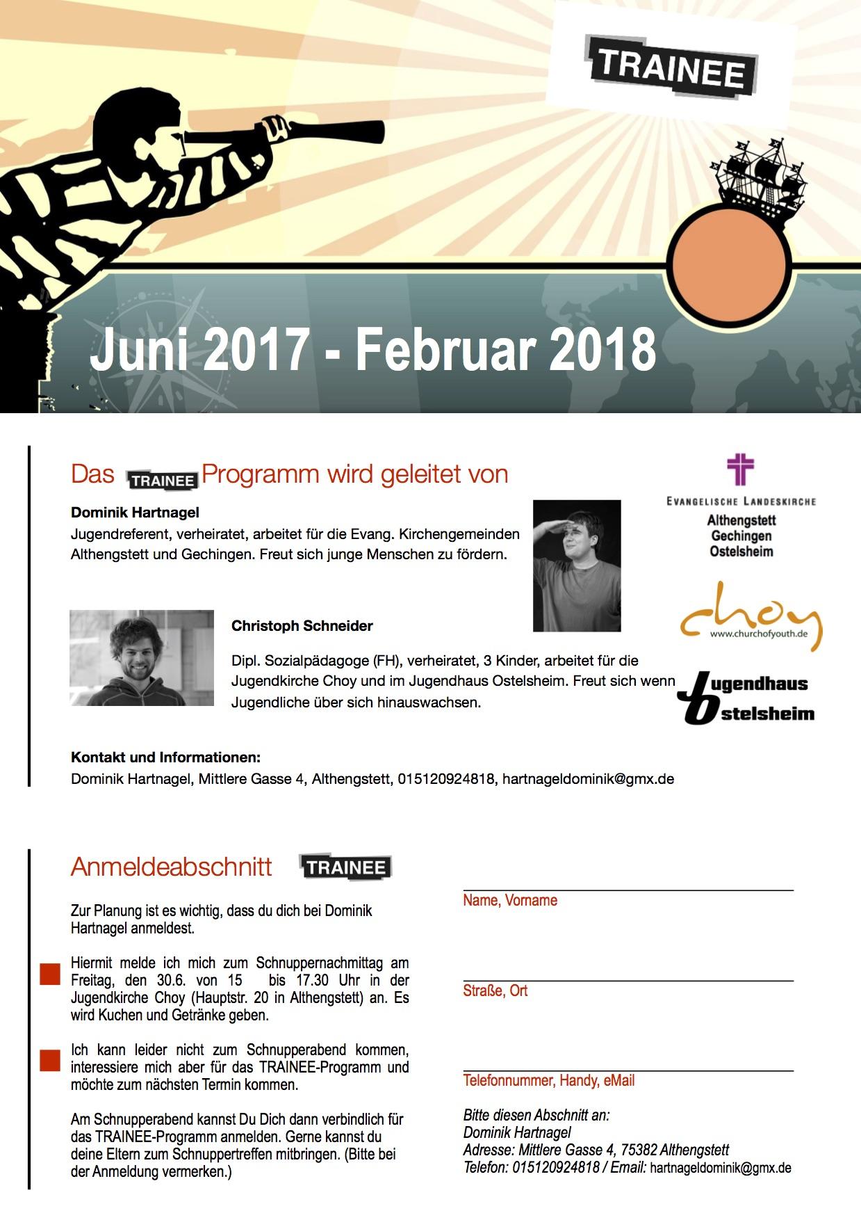 Flyer Trainee 2017_18_Seite1_Homepage